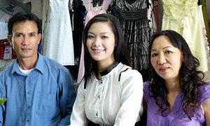Đến thăm nhà hoa hậu Thùy Dung