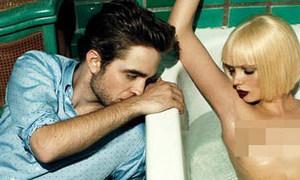 Robert Pattinson 'nóng' cùng mẫu nude