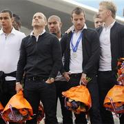 Ngày về trầm buồn của tuyển Hà Lan