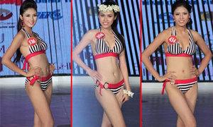 Top 10 HHVN gợi cảm với bikini