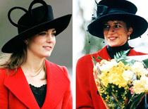 Kate giống hệt công nương Diana