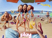 Ghép hình các cô gái trên biển