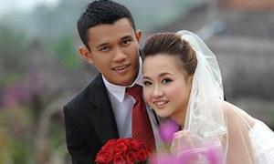 Ảnh cưới lãng mạn của Thanh Hưng