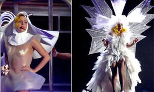 Phục trang khủng khiếp của Lady Gaga