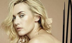 Kate Winslet dạy bạn diễn đóng nude