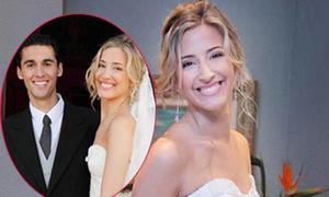 Cô dâu tuyệt sắc của tuyển thủ Tây Ban Nha