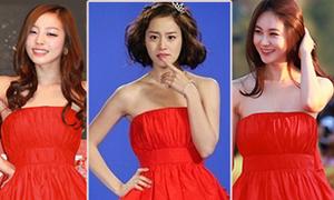 Kim Tae Hee 'đụng hàng' khắp nơi