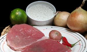 Gỏi thịt bò kiểu Thái (dự thi)