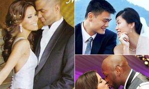 Ảnh cưới đẹp như mơ của các sao bóng rổ