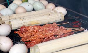 Món nướng đặc sản ở Sapa