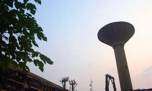 Tháp nước cao nhất Hà Nội trước khi tháo dỡ