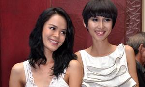 Thùy Dương hội ngộ thí sinh Next Top mùa 2010