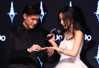 Dương Mịch 'cưới' Phùng Thiệu Phong