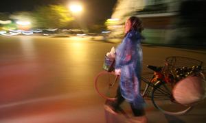 Đêm Hà Nội trong cái lạnh đầu đông
