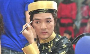 Hậu trường hóa trang của Mr Đàm - Kim Thư