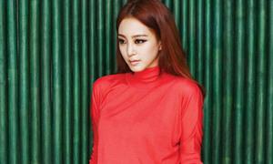 Han Ye Seul khoe cá tính với sắc màu