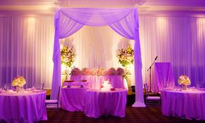 Trang trí đám cưới với lụa