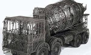 Xe mô hình ấn tượng từ vật liệu tái chế