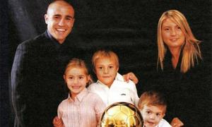 Gia đình hạnh phúc của Cannavaro