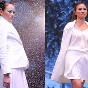 Next Top Model trình diễn thời trang giữa 'trời tuyết'