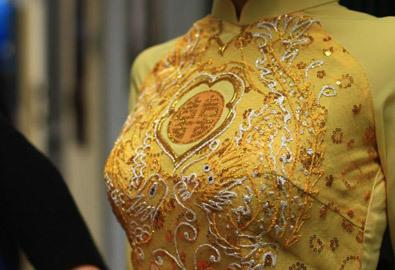 Xu hướng áo dài cưới năm nay