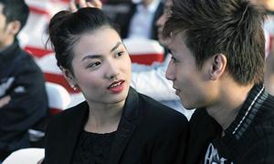 Hồng Quế và bạn trai công khai tình cảm