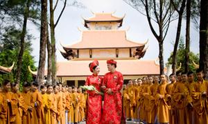 Đám cưới nơi cửa Phật