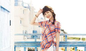 Lee Da Hae xinh tươi giữa nắng Hy Lạp
