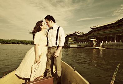 Ảnh cưới vintage ở Bắc Kinh