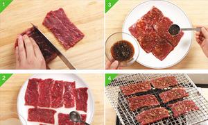 Thịt bò nướng kiểu Hàn Quốc cho ngày mát