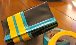 Biến ví đen thành color block