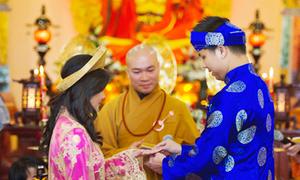 Đám cưới nơi cửa Phật trên đất Mỹ