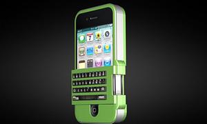Case iPhone gắn bàn phím cho nàng 'nghiện' nhắn tin