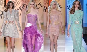 'Hóa thành' công chúa với váy Versace