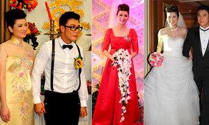 Thúy Vinh và ba bộ váy cưới phong cách