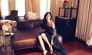 Kim Hyo Jin làm quý cô sành điệu ở London