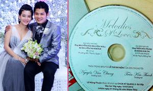 Thiệp cưới hoàn hảo của các sao Việt