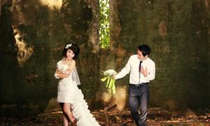 Ảnh cưới tuyệt đẹp ở nhà thờ đổ Ba Vì