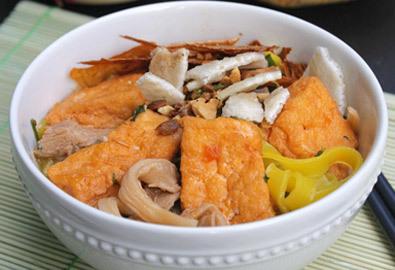 Cách nấu mỳ Quảng chay cho rằm tháng 7