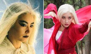 7 'Bạch phát ma nữ' nổi tiếng màn ảnh Hoa ngữ