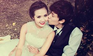 Huyền Lizzie chụp ảnh cưới cùng người yêu