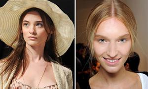 Mốt làm đẹp nổi bật ở tuần lễ thời trang Milan