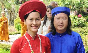 Hải Yến nền nã với áo dài truyền thống