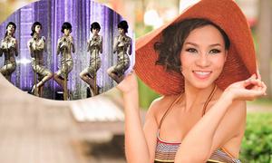 Thu Minh 'đấu' với Wonder Girls tại nhạc hội Hàn - Việt