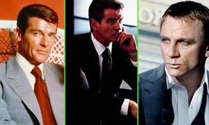 5 ngôi sao thành danh với vai diễn James Bond