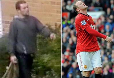 Rooney 'rởm' đi ăn trộm giữa ban ngày