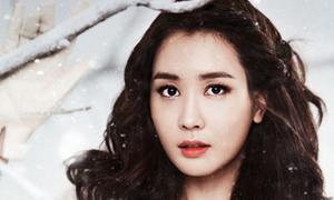 Lee Da Hae xinh đẹp mùa tuyết rơi