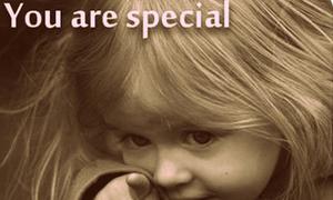 Bạn đặc biệt và là duy nhất!