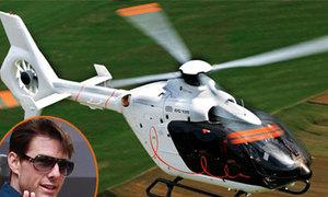 Tom Cruise thuê trực thăng siêu sang để đi lại