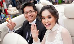 Lễ đón dâu sang trọng của ca sĩ Di Băng